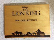 1998 Disney Lion King Rafiki Scar Pumbaa Timon Adult Simba & Nala Boxed Pin Set