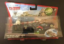 "Disney•Pixar Cars 2 Pit Stop Launchers ""Max Schnell"" Diecast Car [With Launcher]"