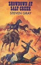 Gray, Steven Showdown at Salt Creek (Dales Western) Very Good Book