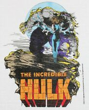 S * NOS vtg 80s 1988 The Incredible Hulk marvel comic t shirt * 39.146