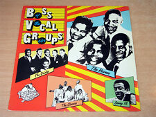 EX/EX- !! Boss Vocal Groups Of The 60s/1985 Red Lightnin LP/Clovers/Orioles