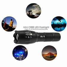 5000lm X800 Flashlight CREE XM-L T6 LED Zoom Military Torch ShadowHawk Useful SJ