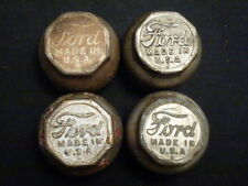ANTIQUE   Ford Dust Cap Hubcap Model T Model A Wheel Center Cap  set 4
