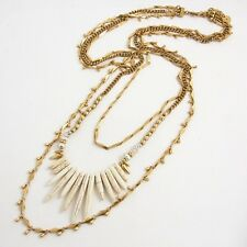 Zuni Layering Necklace Natural Stone Freshwater Pearl Cluster Statement Necklace