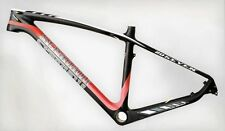 "STRADALLI FULL CARBON FIBER MOUNTAIN BIKE BICYCLE FRAME 27"" 650B MTB MEDIUM 18''"