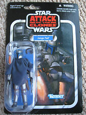 STAR WARS JANGO FETT TVC action figure Attack of the Clones Card