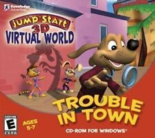 JumpStart 3D Virtual Trouble in Town   NEW Jump Start  Play fun games