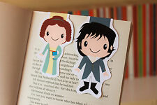 Pride and Prejudice Magnetic Bookmarks (Mr Darcy and Lizzy) | Jane Austen