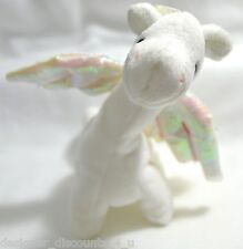Ty BEANIE BABIES BABY MAGIC DRAGON MWMT in shell white Toy Stuffed animal MINT