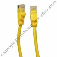 Lot40 7ft RJ45 Cat5e Ethernet Cable/Cord/Wire {YELLOW {F