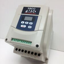 3 HP 230V 1PH OR 3PH IN 230V 3PH OUT TECO  VARIABLE FREQUENCY DRIVE FM50-203-C
