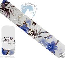 Transferfolie Blumen-Hintergrund Transparent-Irisierend, Nailart, Nr.TRF-267