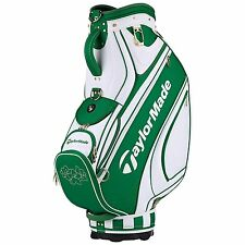 TAYLORMADE MASTERS STAFF GOLF BAG MENS GREEN/WHITE - NEW 2017