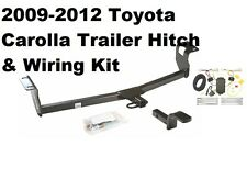2009 - 2012 TOYOTA COROLLA TRAILER RECEIVER TOW HITCH W/ WIRING HARNESS KIT NEW