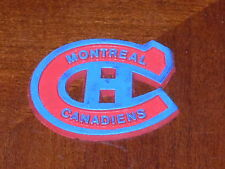 MONTREAL CANADIENS Vintage Old NHL RUBBER Hockey FRIDGE MAGNET Standings Board