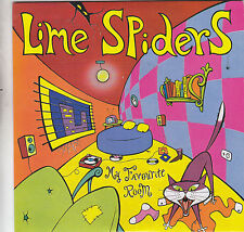 LIME SPIDERS - my favourite room / blood from a stone 7""
