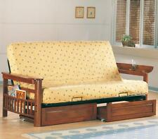 Coaster Futon Frame (Warm Brown)