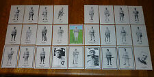 "* * MLB's WORLD SERIES DISGRACE: MINT CONDITION 1919 ""BLACK SOX"" 26-CARD SET!"