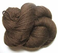 100% Tibetan Yak 48 Down Chocolate Brown Natural Worsted Yarn 100 gr Skein SOFT