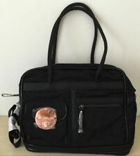 Mimco LUCID Weekender TURNLOCK Baby Travel Shopper Hand Bag Black $299 rose Gold