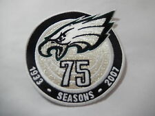 "PHILADELPHIA EAGLES ""75 SEASONS1933-2007 "" Game Jersey PATCH New"