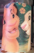 Lion King's  BABY SIMBA& NALA Hand Decorated Pillar Candle 50hrs