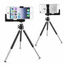 For iPhone 5s 5 SE iPod Touch 5 Rotatable Tripod Mount Stand Phone Holder Black