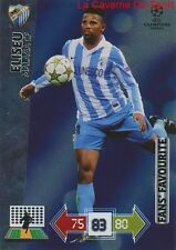 U65 ELISEU MALAGA CF FAN'S FAVOURITE CARD CHAMPIONS LEAGUE ADRENALYN 2013 PANINI