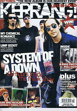 SYSTEM OF A DOWN / MY CHEMICAL ROMANCE Kerrang no. 1056 May 14 2005