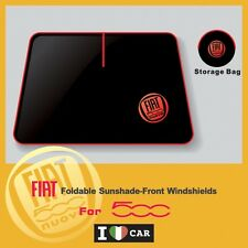 FIAT_500 Foldable Sunshade-Front Windshields