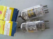 1 TUBE ECF802 RTC NEUF  POUR AMPLI RADIO TSF LAMPE VINTAGE
