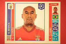 PANINI CHAMPIONS LEAGUE 2014/15 N. 184 LUISAO BENFICA BLACK BACK MINT!