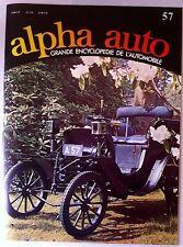 Encyclopédie Alpha Auto n°57; André Citroën/ Jim Clark/ Clément Adolphe/ Bayard