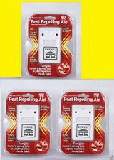 3 Riddex Plus Pest Repeller As Seen on TV Aid for Rodents Roaches Ants US Seller