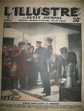 GRAND FROID ET SANS LOGIS REFUGE POSTE DE POLICE PARISIEN LE PETIT JOURNAL 1932
