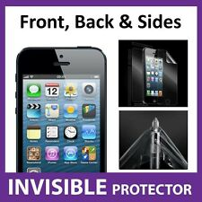 iPhone 5 FULL BODY 360 Military Grade Quality Shield Invisible Screen Protector
