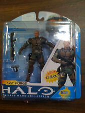 Mcfarlane Halo Wars Collection Sgt. Forge NEW Free Ship US