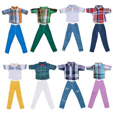 "Fashion Handmade T-shirt +Pants Clothes Outfit for 11"" Barbie Boyfriend Ken Doll"