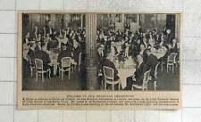 1925 cena de bienvenida para nuevo embajador brasileño certamente de Oliveira