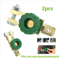 2x  Battery Terminal Link Switch Quick Cut-off Kill Disconnect Car Vehicle Parts