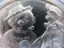 1-OZ.925 SILVER NORMAN ROCKWELL CHRISTMAS SNOWMAN 4 SEASONS COIN + GOLD WINTER