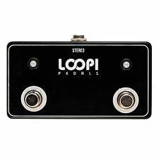 Dual Amp Channel Footswitch w/ LED - Big Foot Version - Loopi Pedals