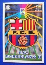 CARD FUTBOL - LAS FICHAS DE LA LIGA 98-99 - N.416 - ESCUDOS/EQUIPO - BARCELONA B