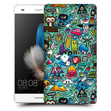 CUSTODIA COVER  per HUAWEI ASCEND P8 LITE TPU BACK CASE STICKERS