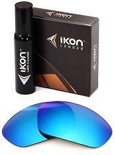 Polarized IKON Iridium Replacement Lenses For Oakley Juliet Ice Blue Mirror