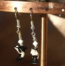 Orca/Killer Whale Earrings 8032