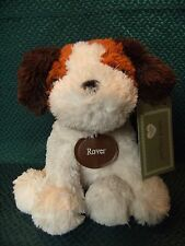 """TESCO FLOPPY FRIENDS """" ROVER """"  PUPPY COMFORTER SOFT HUG TOY  9"""" APPROX W/TAGS"""