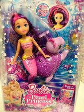 Barbie The Pearl Princess Mermaid Doll with Sea Turtle...New