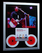 MANIC STREET PREACHERS+SIGNED+FRAMED+TOLERATE=100% AUTHENTIC+EXPRESS GLOBAL SHIP