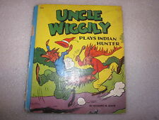 1940 Uncle Wiggily Plays Indian Hunter book by Howard R. Garis